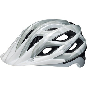 KED Companion Helmet White Grey Glossy